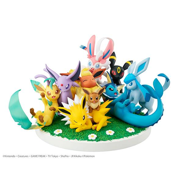 Figurine Pokemon Evoli FRIENDS G.E.M. EX