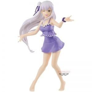 Figurine Re Zero kara Hajimeru Isekai Seikatsu Emilia EXQ