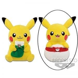 Peluche Pokémon Pikachu Christmas Noël