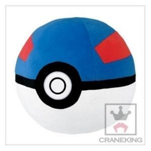 Peluche Pokémon XY & Z Super Ball