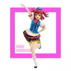 Figurine Love Live! Sunshine!! Kurosawa Ruby Happy Party Train Super Special Series