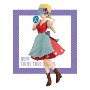 Figurine Re Zero kara Hajimeru Isekai Seikatsu Rem Okashi no Ie