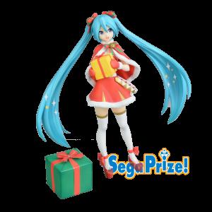 Figurine Vocaloid Hatsune Miku Christmas 2019 SPM
