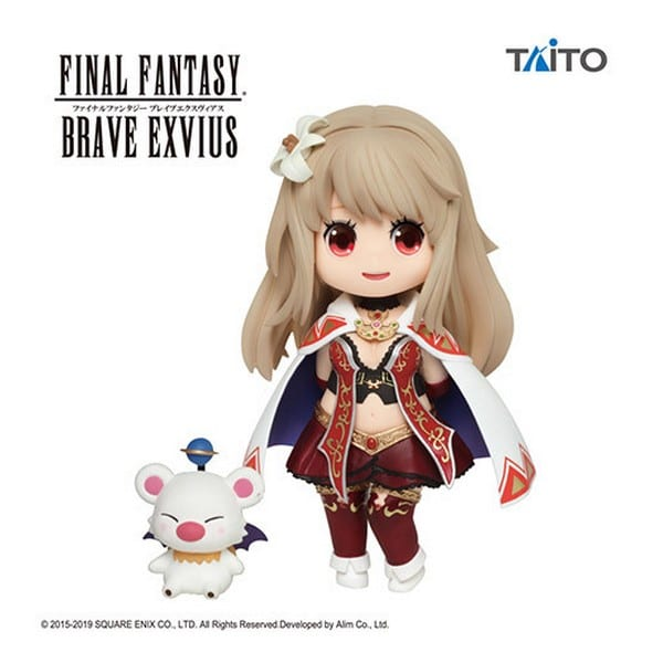 Figurine Final Fantasy Brave Exvius Fina & Moogle