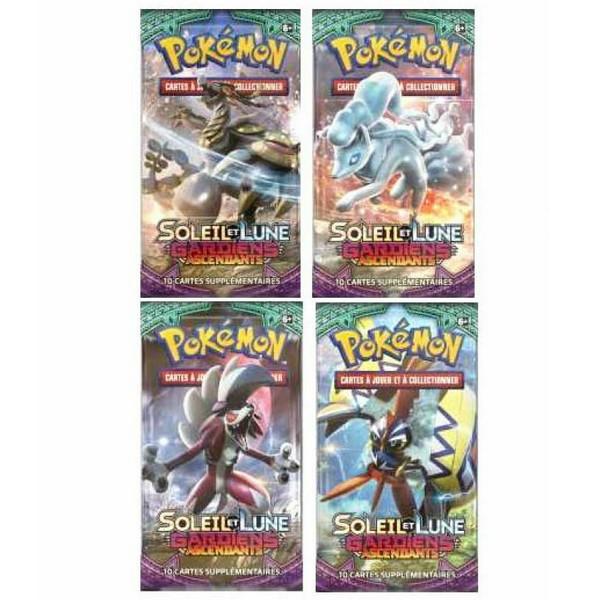 Booster Carte Pokémon Soleil et Lune Gardiens Ascendants