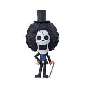 Figurine One Piece Brook Shabondy Island Version Ichiban Kuji Kyun-Chara World One Piece