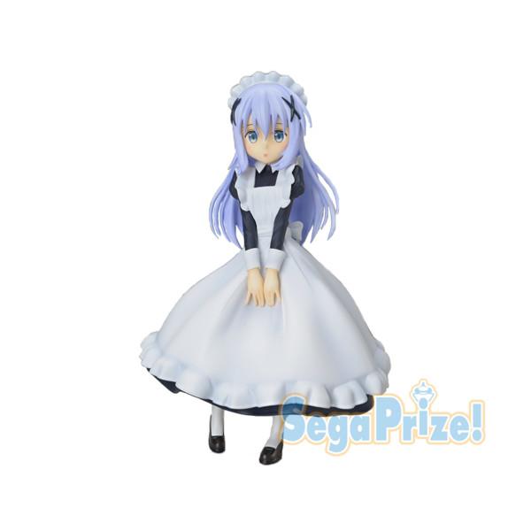 Figurine Gochuumon wa Usagi Desu ka?? Kafuu Chino & Tippy Maid Ver.