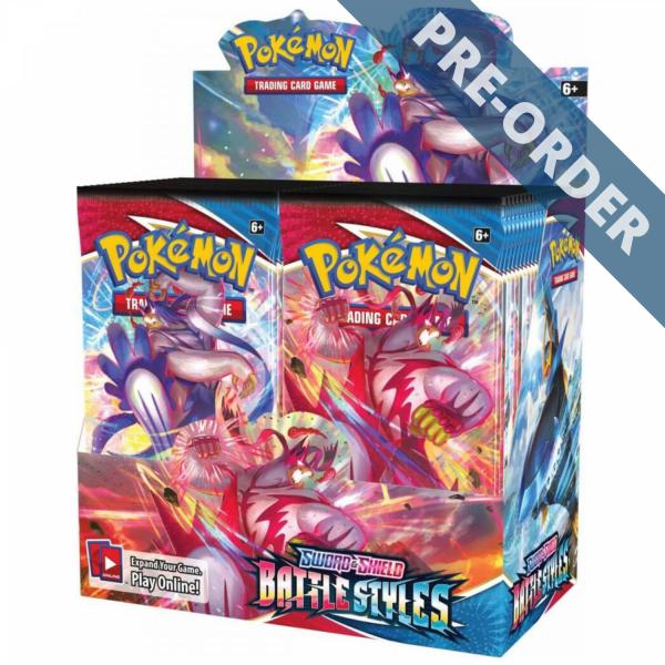"""Display De Cartes Pokémon Styles De Combat Epée et Bouclier 5 """"EB5"""""""