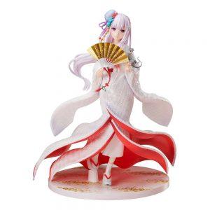 Figurine Re Zero kara Hajimeru Isekai Seikatsu Emilia Shiromuku Ver.