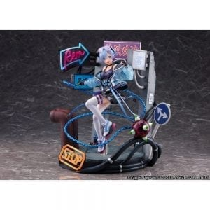Figurine Re Zero kara Hajimeru Isekai Seikatsu Rem Neon City Ver