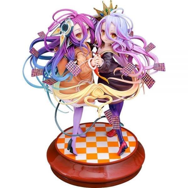 Figurine No Game No Life Shiro & Schwi