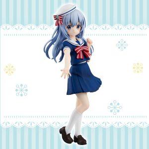 Figurine Gochuumon wa Usagi Desu ka?? Kafuu Chino Sailor ver.